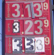 Gas Price Numbers