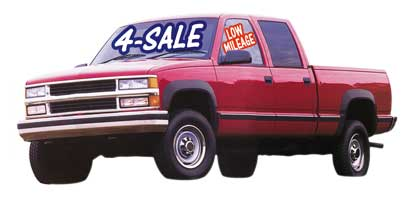 Used Car For Sale and Special Signs
