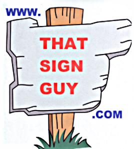That Sign Guy Logo